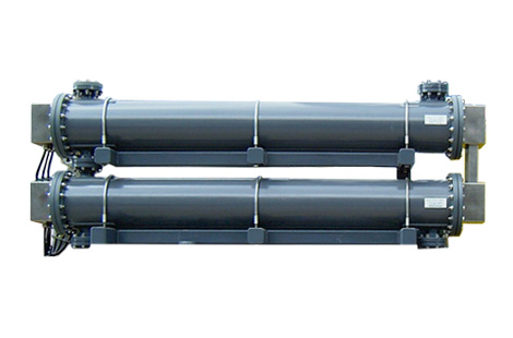Parallel plate seawater electrolyzer